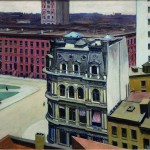 Edward Hopper - The City - 1927 - Tucson, The University of Arizona Museum of Art Gift of C. Leonard Pfeiffer