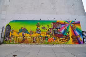 Houston and Bowery murales - Os Gemeos