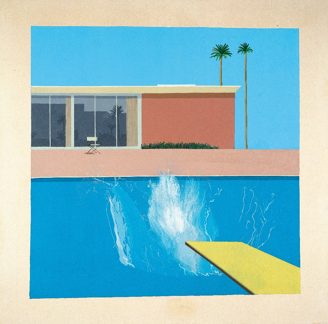 A Bigger Splash. Painting after Performance