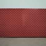 Cady Noland - Ohne Titel (Brick Wall), 1993-94 - photo Albarello