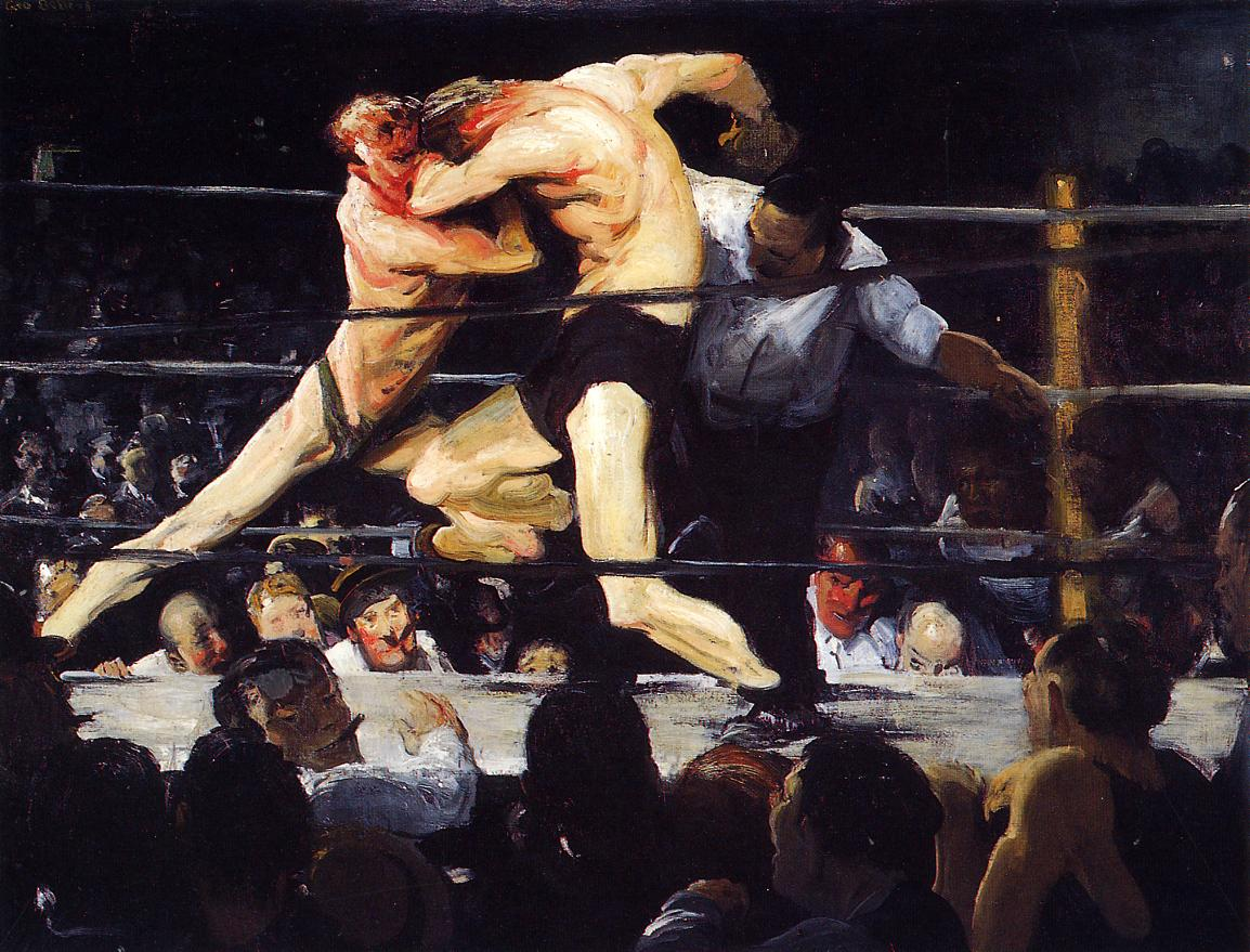 I pugili di George Bellows al Metropolitan