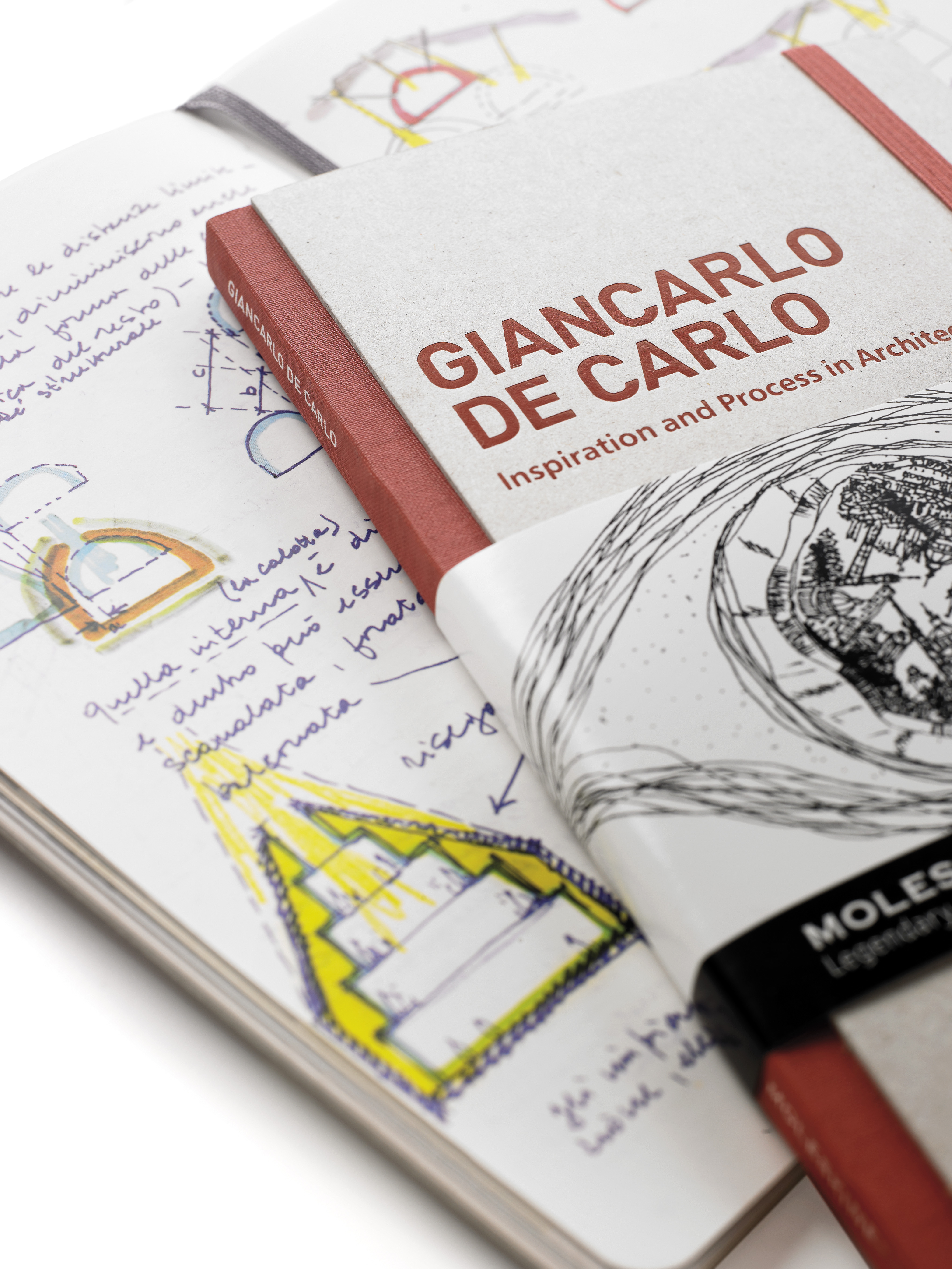 Inspiration and Process in Architecture - Moleskine