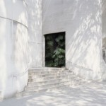 Noemie Goudal, Haven her body was (Cavity) 2012, Lightjet, courtesy of Project B Gallery