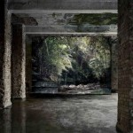 Noemie Goudal, Haven her body was (Trail) 2012, Lightjet, courtesy of Project B Gallery