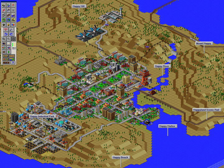 SimCity 2000 © 2012 Electronic Arts.