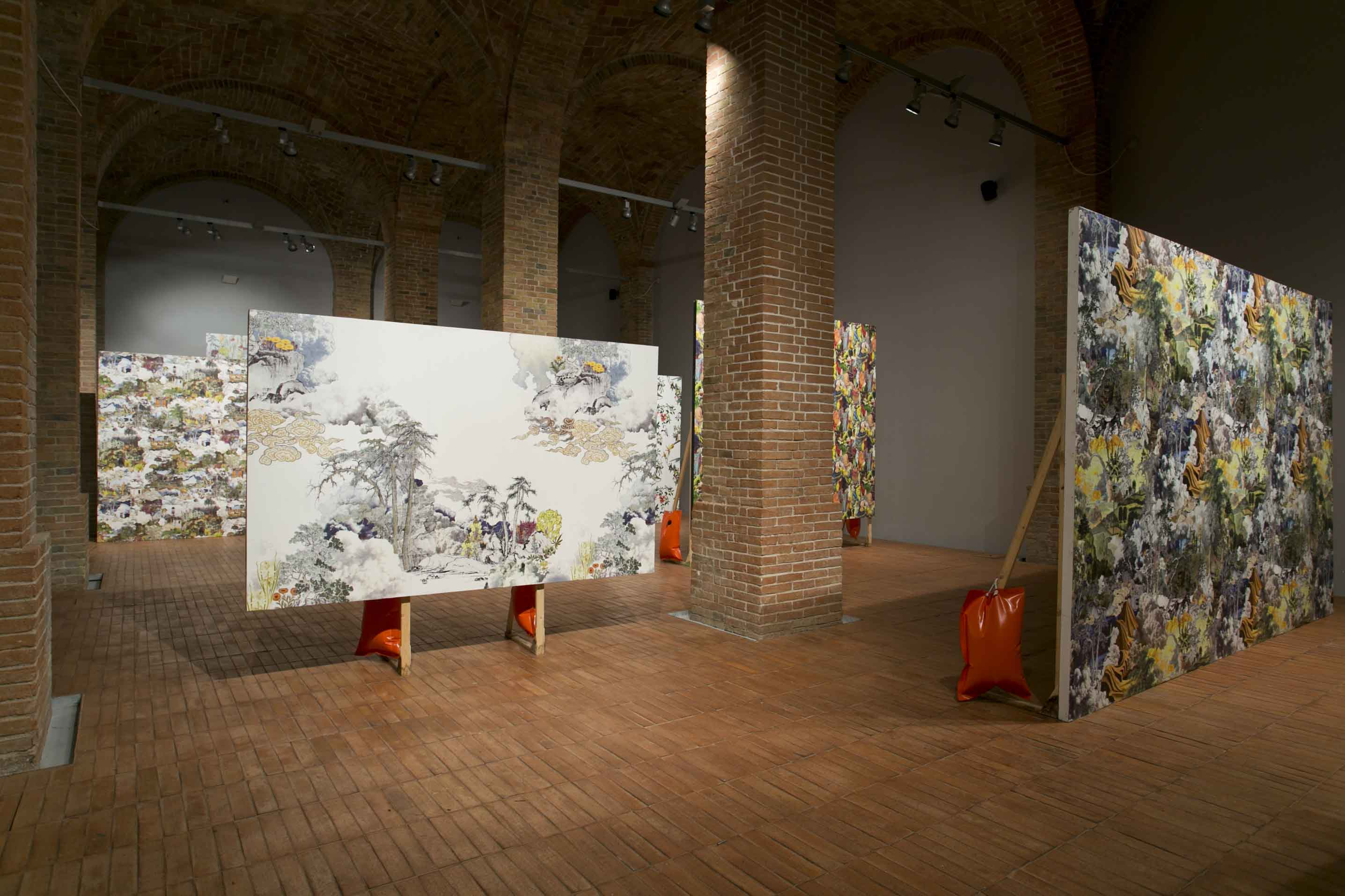 Francesco Simeti, Wallpaper patterns, 2007-2012, photo Giuseppe Veniero