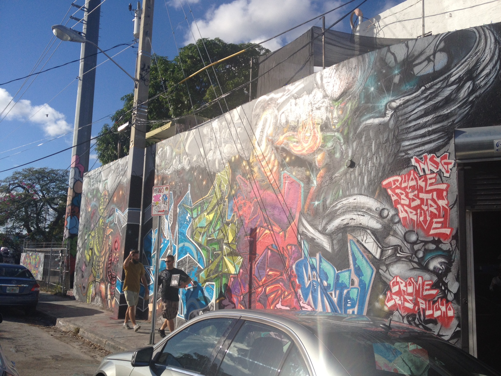 Wynwood Wall, Miami, 2012 2
