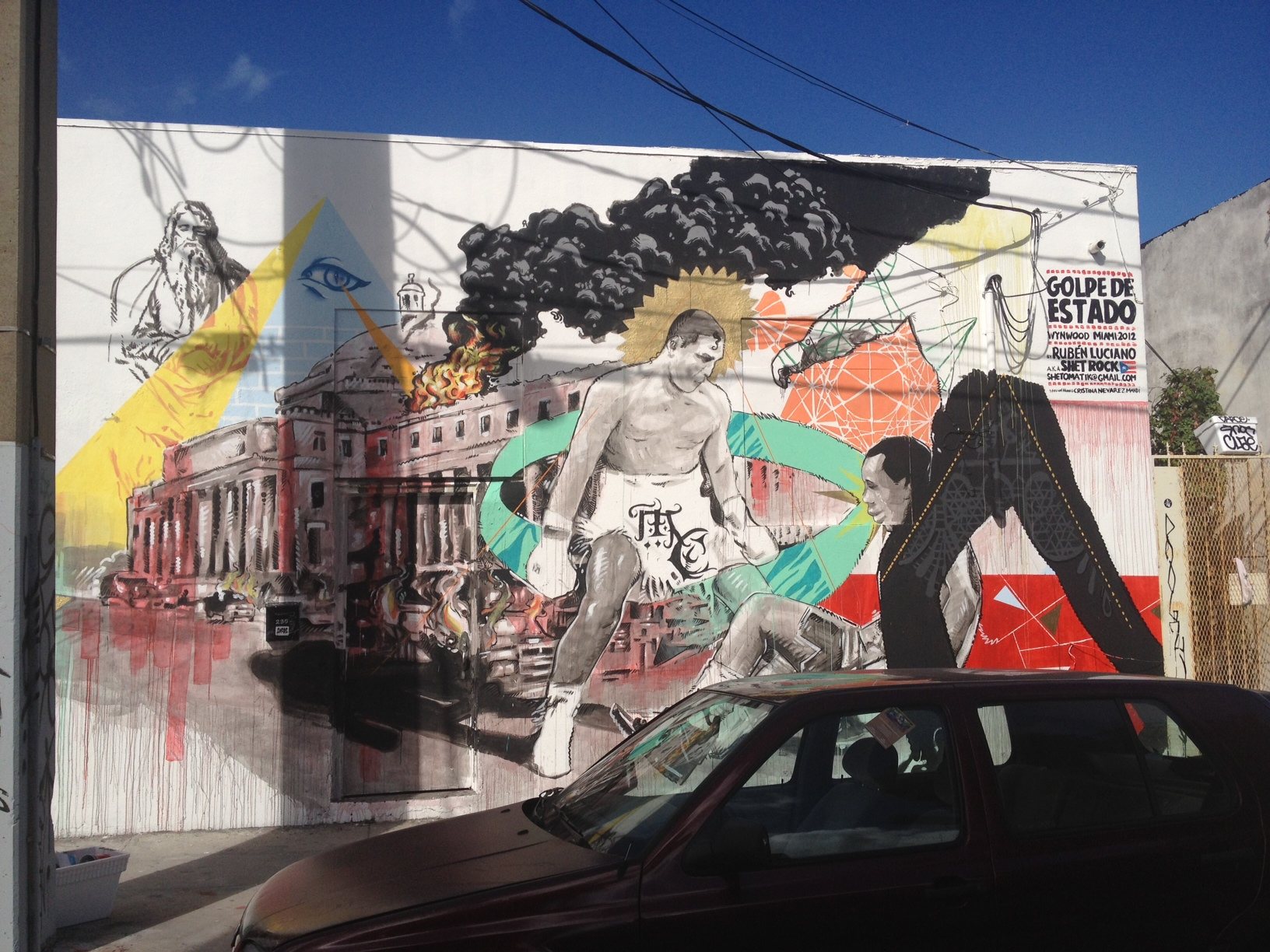 Wynwood Wall, Miami, 2012 30