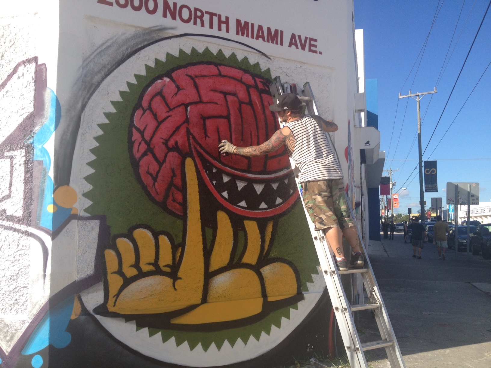 Wynwood Wall, Miami, 2012 33