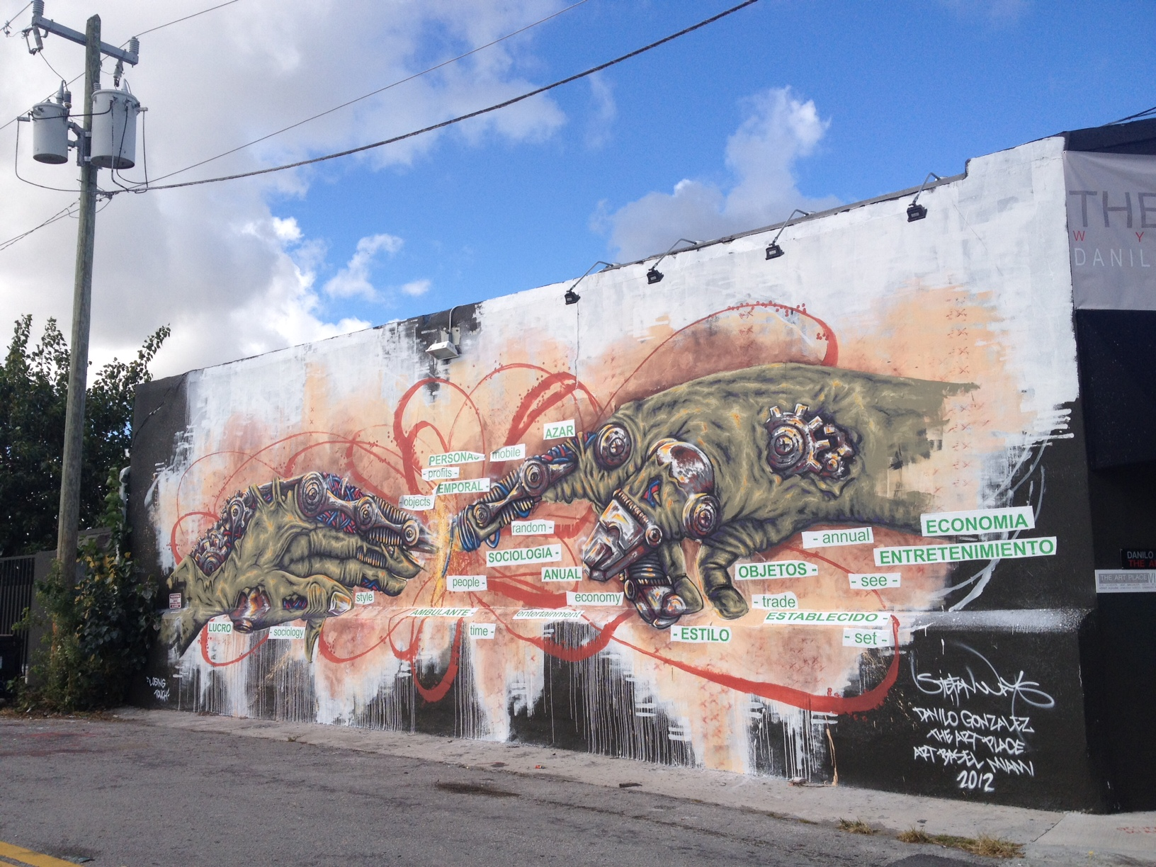 Wynwood Wall, Miami, 2012 34