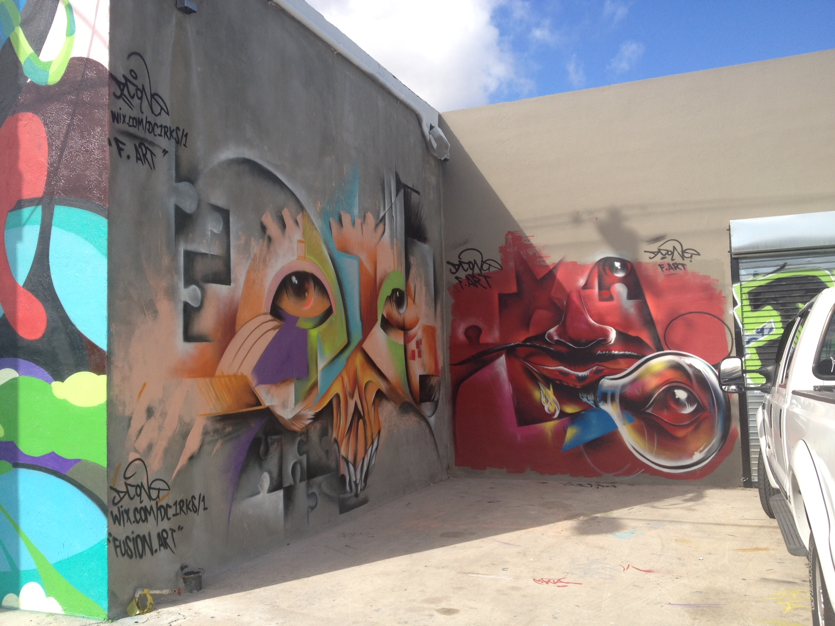 Wynwood Wall, Miami, 2012 37