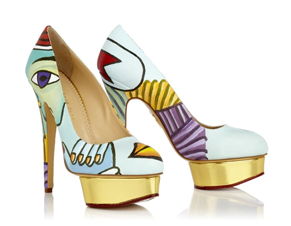 Dolly - Picasso by Charlotte Olympia
