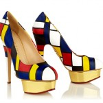 Dolly - Mondrian by Charlotte Olympia