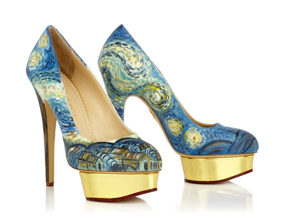 Dolly - Van Gogh by Charlotte Olympia