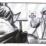 Storyboard del film Bram Stoker's Dracula di Francis Ford Coppola, Courtesy of the American Zoetrope Research Library