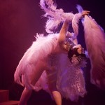 Vicky Butterfly, Royal Burlesque Revue, Ph. by Lorenzo Paxia
