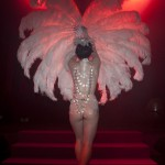 Vicky Butterfly, Royal Burlesque Revue, Ph. by Cesare Ciccardini