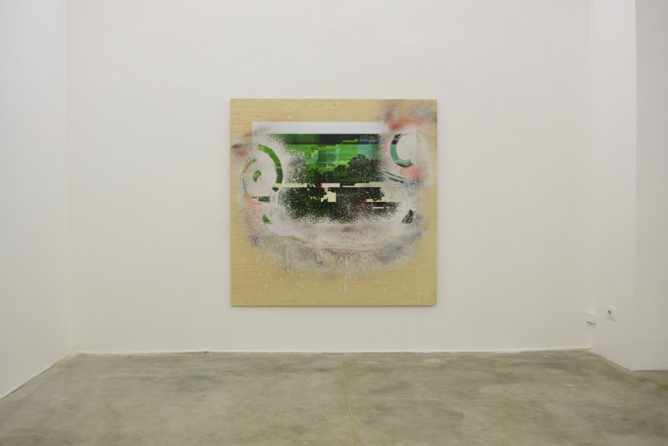 Nathaniel Mellors, Sapro_Digtalis_5 (Landship Spacescape), 2012, Courtesy the Artist and Monitor
