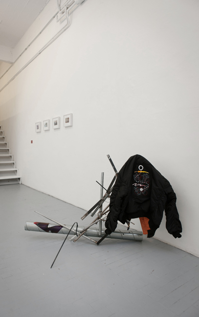 Stuart Middleton, Anyone's House, 2012, mixed media, photo©Giovanni De Angelis, Courtesy CO2