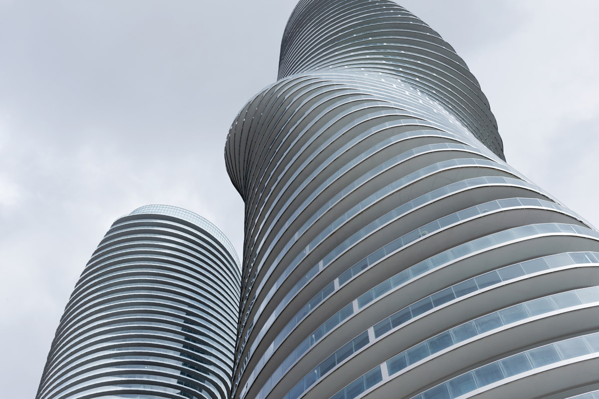 MAD Architects - Absolute Towers - Mississauga, 2012 - photo Iwan Baan