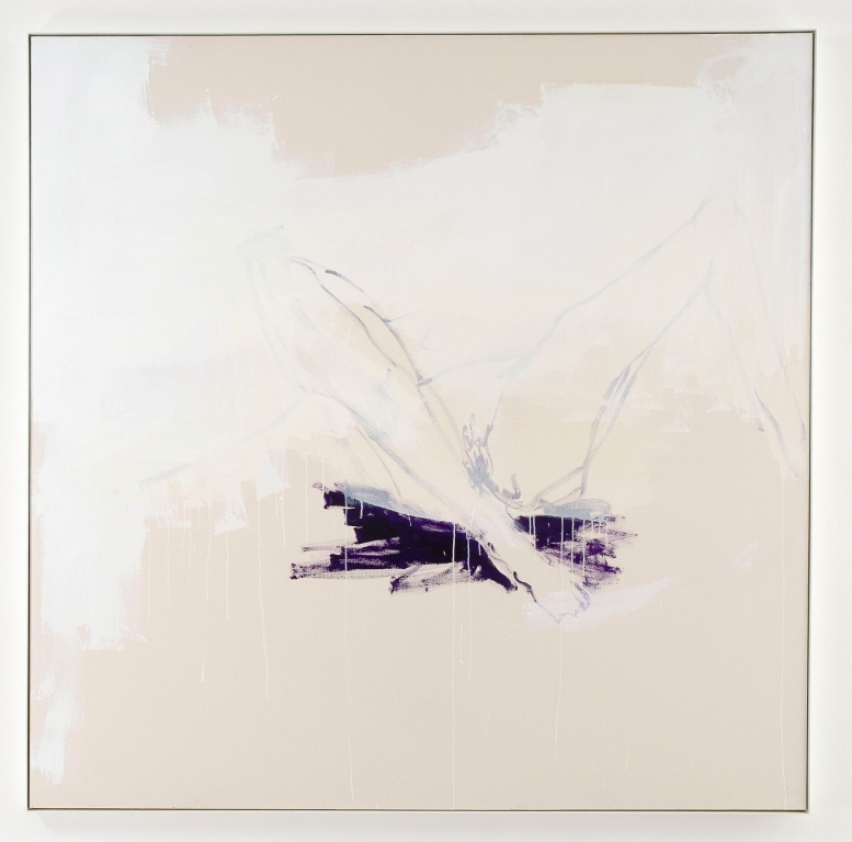 Tracey Emin, The Big Purple, 2006, Acrylic on canvas - Galleria Lorcan O'Neill Roma