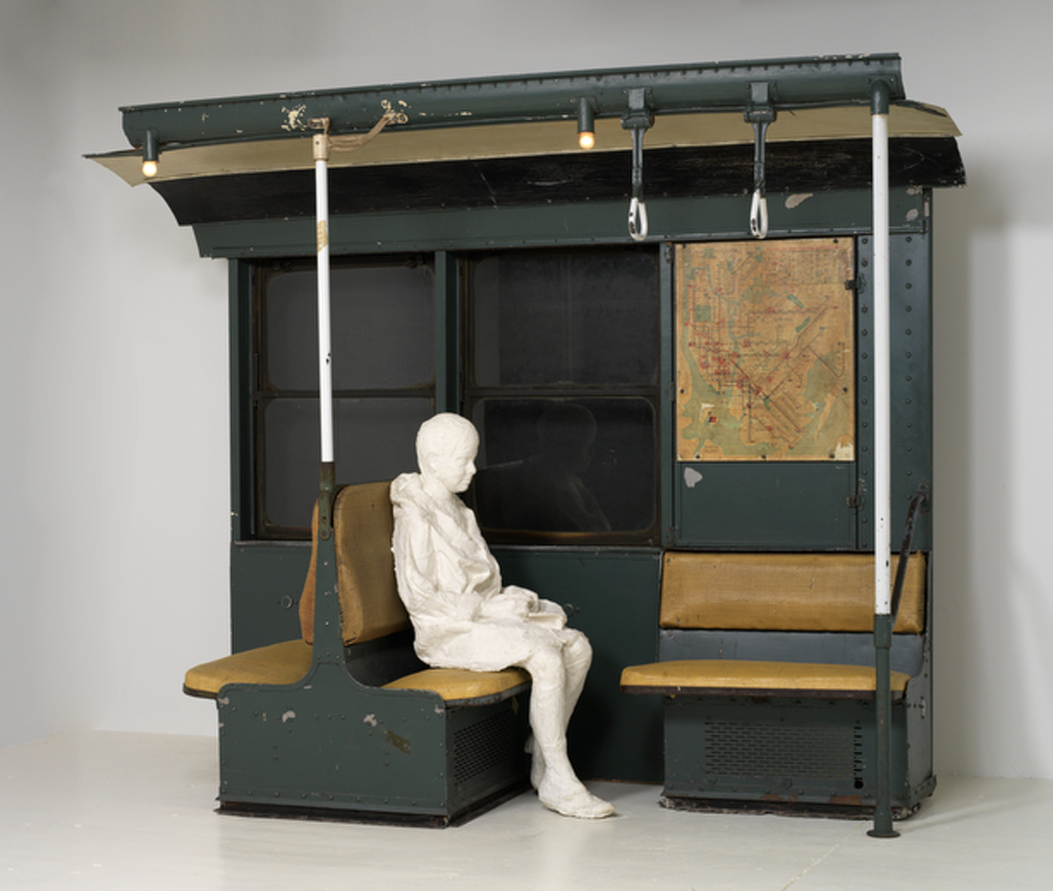 George Segal, Subway, 1966, Margulies Collection at the Warehouse