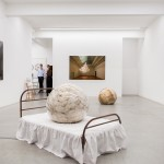 Installation image, The Uncanny Adeline de Monseignat and Berndnaut Smilde, Ronchini Gallery, photo Susanne Hakuba (9)