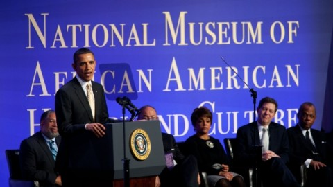 Obama al National Museum of African American Culture
