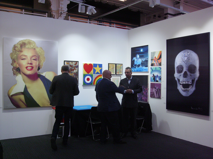 Peter Blake e Damien Hirst, Paul Stolper Gallery