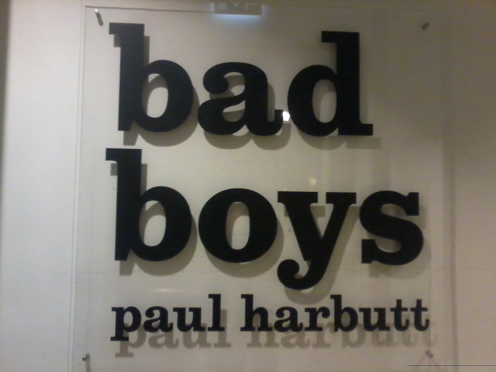 Paul Harbutt - Bad Boys