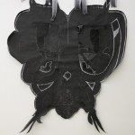 Lucy Dodd, Black Lung Butterfly, 2013, Courtesy l'artista & Kaufmann Repetto, Milano