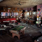 Lori Nix, Bar, 2009, from The City series