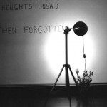 Bas Jan Ader, Thoughts unsaid, then forgotten, 1973 - In collaborazione con / In cooperation with the Bas Jan Ader Estate, Mary Sue Ader Andersen and Patrick Painter Editions