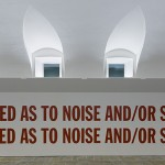 Lawrence Weiner, Affected as to noise and or silence - photo www.tenderinifotografia.com