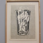 Alka Seltzer, 1966, Graphite , pochoir and lithographic rubbing crayonon paper, The Art Institute of Chicago