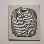 Ball of Twine, 1963, Oil and Magma on canvas, Courtesy Gagosian Gallery