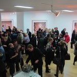 Candida Höfer - A Return to Italy, Ben Brown Fine Arts, Londra, un momento dell'opening 1