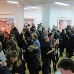 Candida Höfer - A Return to Italy, Ben Brown Fine Arts, Londra, un momento dell'opening 11