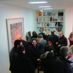 Candida Höfer - A Return to Italy, Ben Brown Fine Arts, Londra, un momento dell'opening 12
