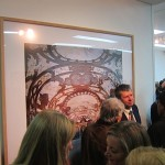 Candida Höfer - A Return to Italy, Ben Brown Fine Arts, Londra, un momento dell'opening 13