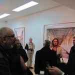 Candida Höfer - A Return to Italy, Ben Brown Fine Arts, Londra, un momento dell'opening 14