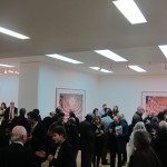 Candida Höfer - A Return to Italy, Ben Brown Fine Arts, Londra, un momento dell'opening 15