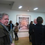 Candida Höfer - A Return to Italy, Ben Brown Fine Arts, Londra, un momento dell'opening 3