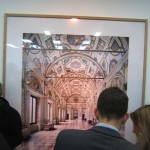 Candida Höfer - A Return to Italy, Ben Brown Fine Arts, Londra, un momento dell'opening 5