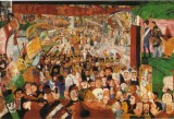 James Ensor - L&#039;entrata di Cristo a Bruxelles (1888-89)