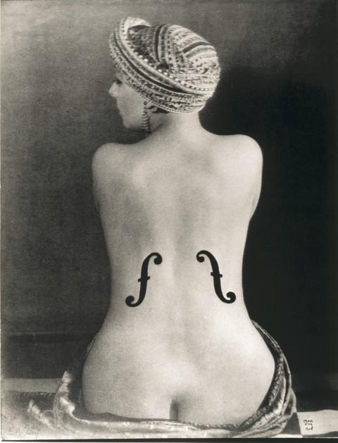 Man Ray, Le Violon d'Ingres, 1924 - Museum Ludwig, Colonia