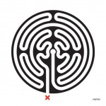 Mark Wallinger, Labyrinth, 2013 Commissioned by Art on the Underground, LUL All works © The Artist, Courtesy Anthony Reynolds Gallery, London Photograph © Thierry Bal 2013°°°