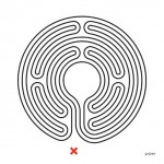 Mark Wallinger, Labyrinth, 2013 Commissioned by Art on the Underground, LUL All works © The Artist, Courtesy Anthony Reynolds Gallery, London Photograph © Thierry Bal 2013°
