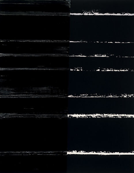 Pierre Soulages, Painting, 300x235cm, 9 July 2000