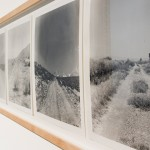 Robert Kinmont, My Favorite Dirt Roads, 1969-2008 - 17 sliver gelatin prints. Edition of 8. Courtesy Galerie RaebervonStenglin, Zürich and Gallery Alexander and Bonin, New York City. Photography by theonepointeight